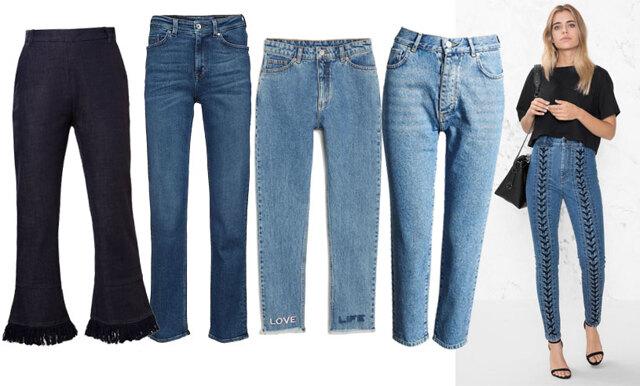 Världens snyggaste plagg! 20 blåa jeans vi helst bär dygnet runt i vinter