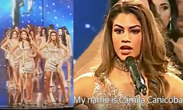 Deltagarna i Miss Peru valde att lyfta kvinnovåld – istället för sina bröst- och midjemått