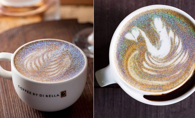 Vänd din dåliga dag till en magisk - med hjälp av en glittrande cappuccino