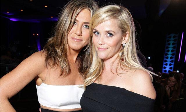 Reese Witherspoon och Jennifer Aniston gör TV ihop och vi är så peppade!