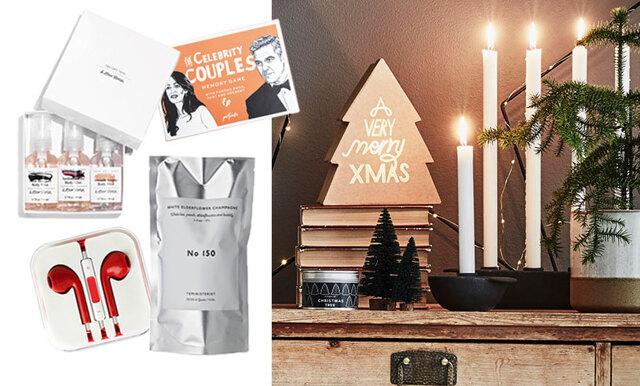 12 julklappar till honom och henne – under 160 kronor