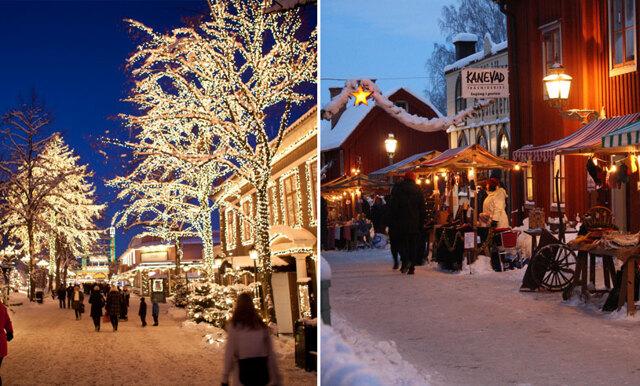 11 mysigaste julmarknaderna i Sverige som du bara måste besöka i jul