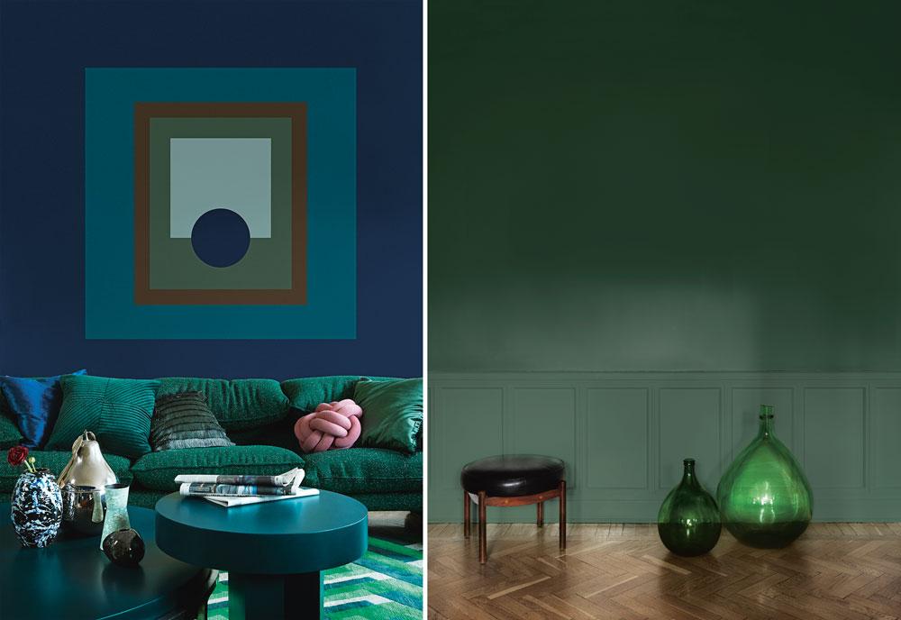 Trendigaste väggfärgerna 2018 - och hur du stylar dem - Metro Mode 03d7352bce0c3