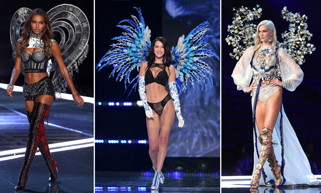 Vi listar våra 20 favoriter från Victoria's Secret Fashion Show 2017