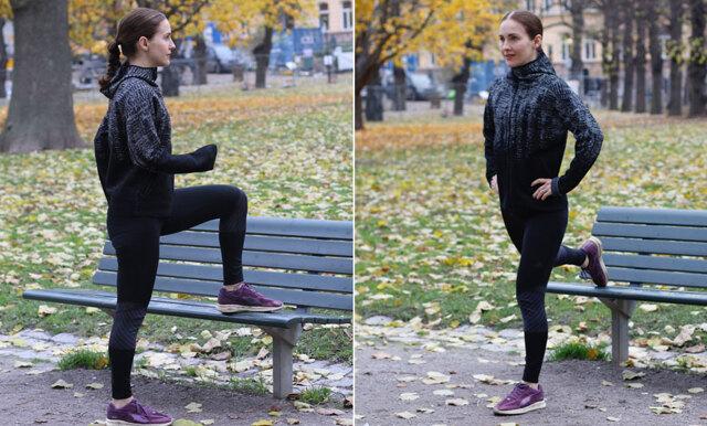 Träna ben och rumpa på en bänk – 5 övningar som ger grymma resultat