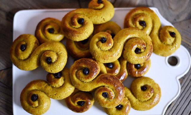 Glutenfria och nyttiga lussekatter – Ida Wargs enkla och goda recept!
