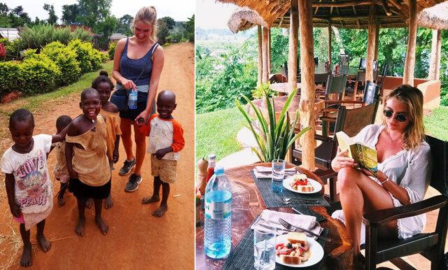 Sofie följde sin dröm om att bo och jobba med fattigdomsbekämpning i Afrika