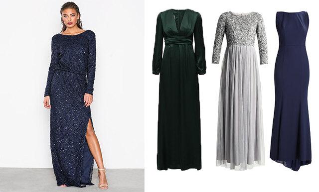 20 eleganta långklänningar att bära på vinterns bröllop
