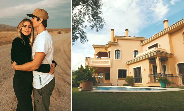 Häng med på en rundtur i Janni Delér och Jon Olssons lyxvilla i Marbella!