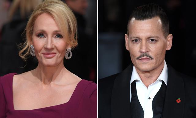J.K Rowling svarar på kritiken om att låta Johnny Depp spela i nya filmen – fansen uppröda
