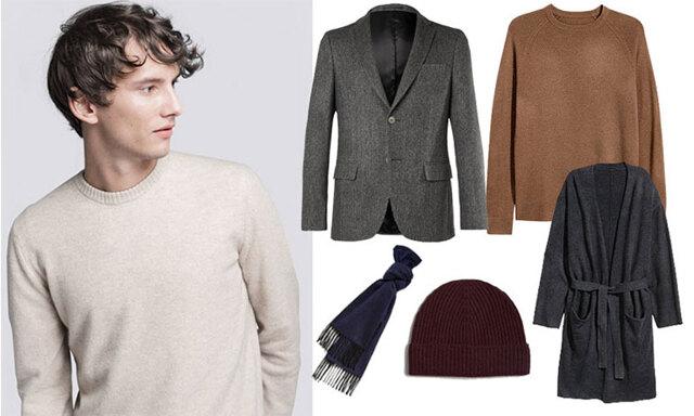 Kashmirkläder för män – 9 varma favoriter i vinter