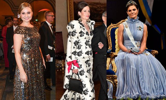 Metro Mode listar de finaste klänningarna på Nobelfesten 2017