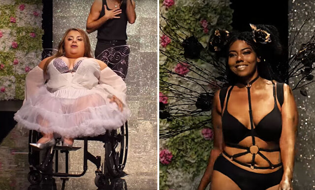 De startade en egen Victoria's Secret-visning – vill visa upp alla typer av kvinnor