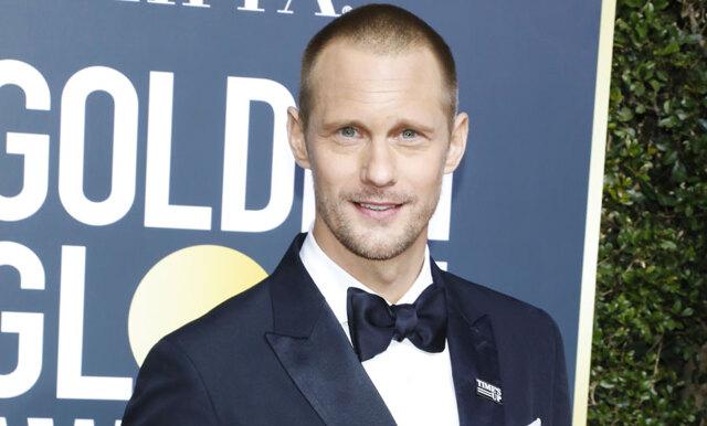 Alexander Skarsgård vann pris på Golden Globes - se hans fina tacktal