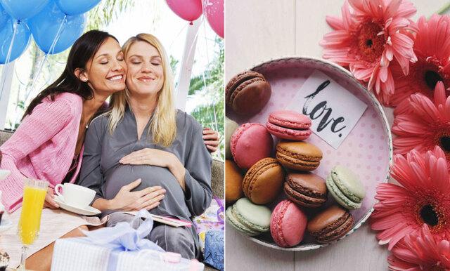 Stor guide: Allt du behöver veta för att planera den ultimata babyshowern!