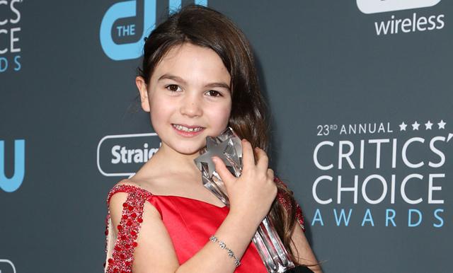 Se när 7-åriga Brooklynn Prince vinner Choice Award och håller världens sötaste tal