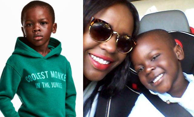 """Mamman till pojken från H&M-reklamen: """"Det är en onödig konflikt"""""""