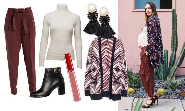 Sno stilen av fashionistan Louise Roe – plaggen du ska satsa på under din graviditet