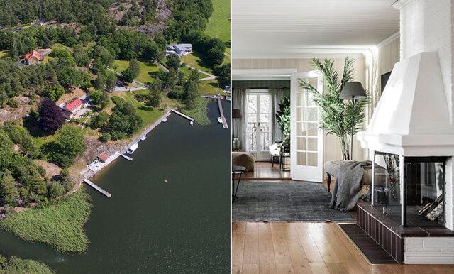 Nu kan Greta Garbos sommarvilla bli din – magiskt paradis på Ingarö