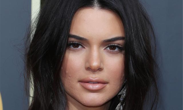 Kendall Jenners klockrena svar om hennes acne på Golden Globe