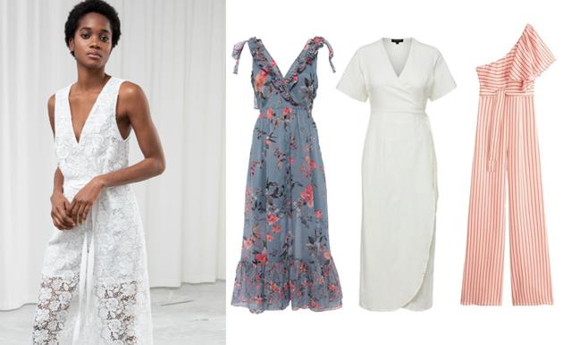 Stråla på vårens bröllop och fester – här hittar du snygga klänningar och jumpsuits!