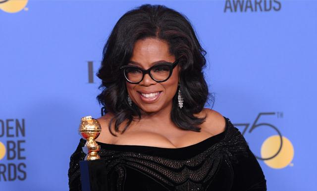 Klippet alla måste se – Oprah Winfreys starka brandtal på Golden Globe för världens kvinnor