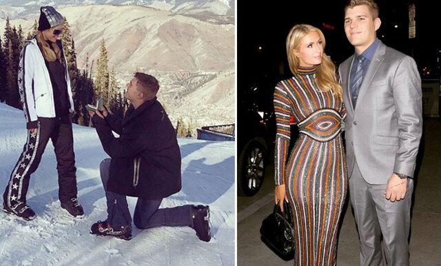 """Paris Hilton om förlovningen: """"That's hot!"""" (världens största ring!)"""
