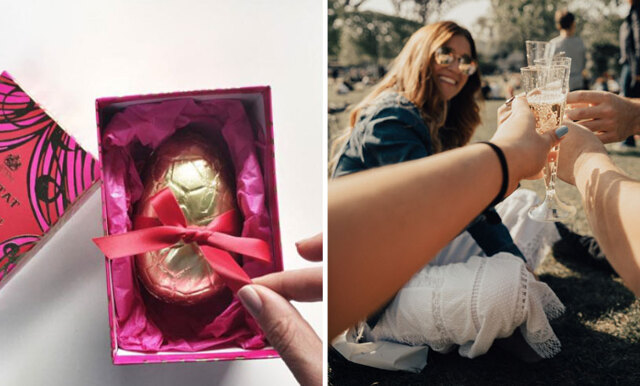 Prosecco + choklad = sant! Här är chokladägget vi vill äta i påsk