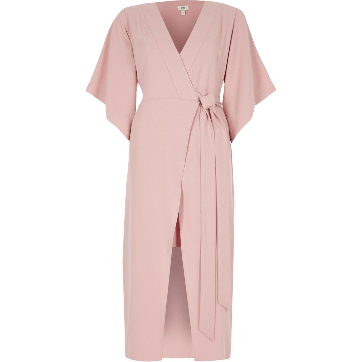 rosa klänning till fest