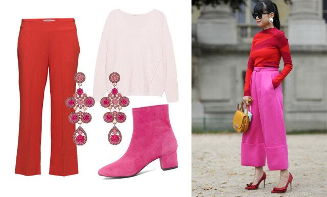 Rosa och rött är snyggaste färgkombinationen i vår – 22 plagg att klicka hem