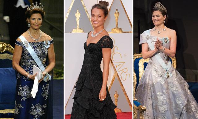Ny utställning i Stockholm – nu kan du se Alicia Vikanders fantastiska Oscarsklänning