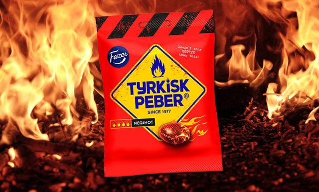 För alla lakritsälskare som vill ha extra allt – nu kommer Tyrkisk Peber Megahot!