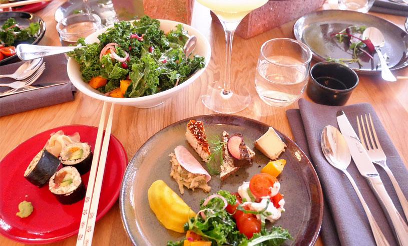 bra vegetarisk restaurang stockholm