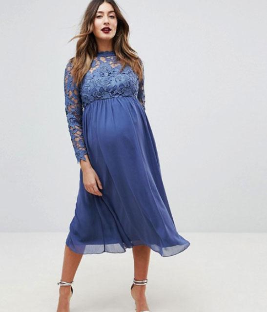 eeb713c4d1a9 14 vackra gravidklänningar för vårens och sommarens bröllopsfester ...
