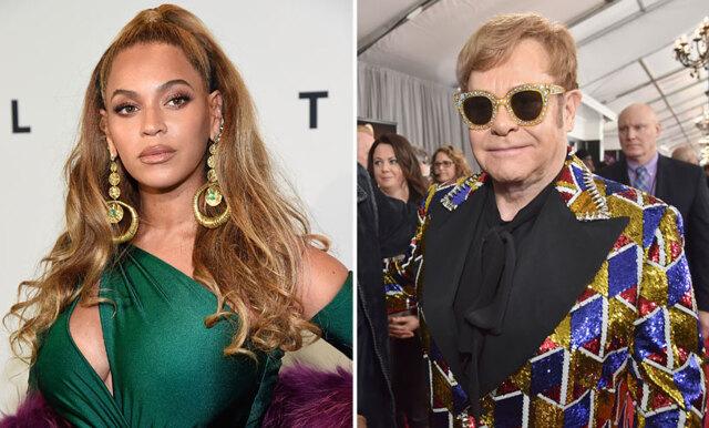 Elton Johns fråga till Beyoncé gör oss ÄNNU mer pepp på nya Lejonkungen