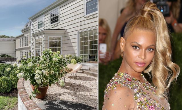 Nu kan du bo som Queen B –  lyxvillan i Hamptons väntar på nya ägare