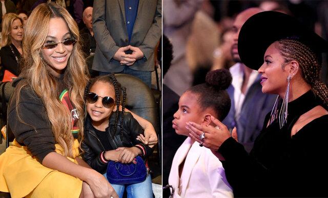 Beyoncé och dottern Blue Ivy stjäl showen under NBA – det kallar vi mamma-dotter-goals!
