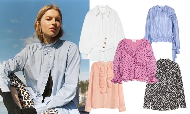 Blusar och skjortor tar ny form i vår. Vi guidar dig genom de nya modellerna och ger dig 21 oemotståndliga alternativ!