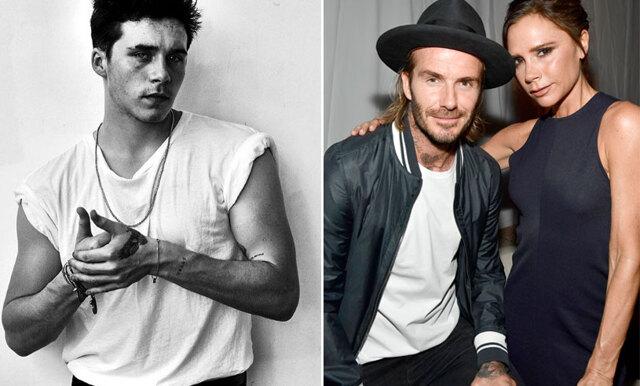 Brooklyn Beckham hyllar föräldrarna med två nya tatueringar