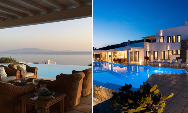 Vill du vinna en lyxvilla med havsutsikt på Mykonos? Nu har du chansen!