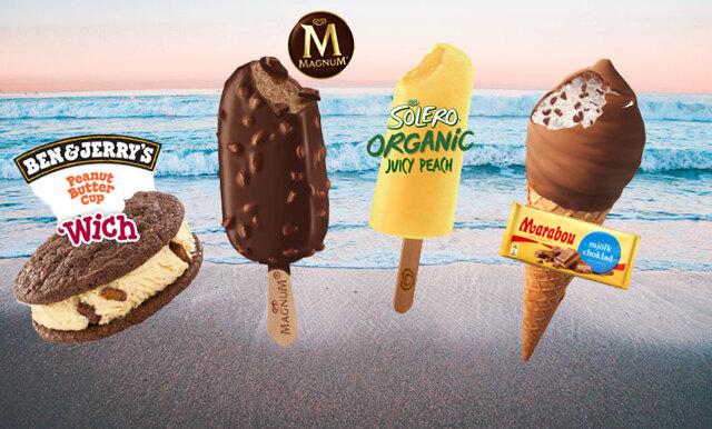 Vårkänslor deluxe - här är årets spännande glassnyheter från GB