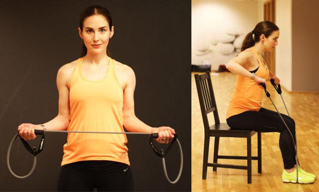 Gravidstark! Träna hela kroppen hemma med 6 enkla övningar