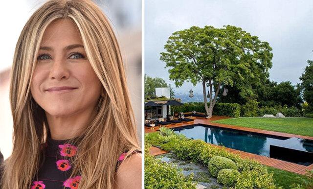 Spana in Jennifer Anistons vackra hem i Bel Air (vi älskar hennes hemmakontor!)