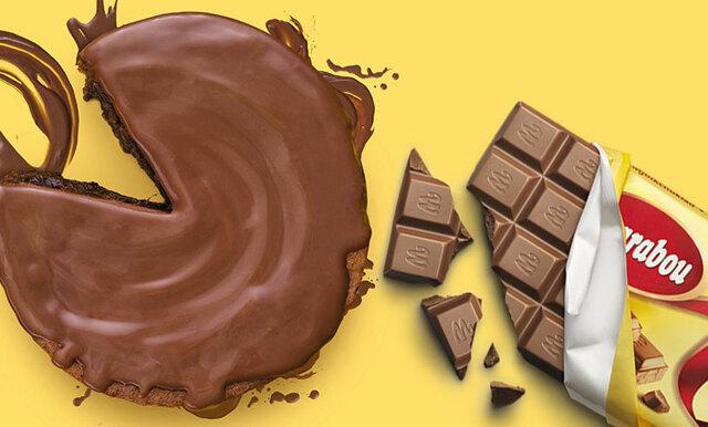 Kladdkaka och mjölkchoklad i ett – goda nyheter från Marabou!