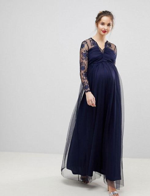 snygga klänningar för gravida