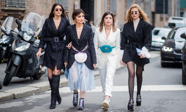 Inspireras av fashionistas direkt från Italiens modestad – street style från Milano Fashion Week 2018