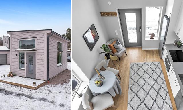 Compact living deluxe – kolla in Sveriges minsta villa som rymmer precis allt