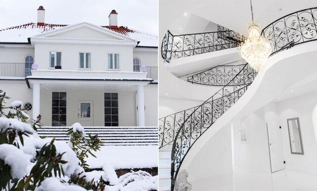 Den pampiga Kalmar-villan för våra tankar till Hollywood och lyxiga fester