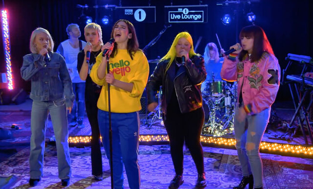 Zara Larsson och Dua Lipa teamar upp i hyllat uppträdande – är det Spice Girls 2.0 vi ser?