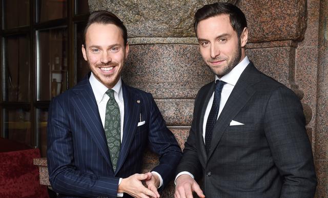 """Måns Zelmerlöw och Alexander Wiberg: """"Det är nästan oförskämt hur trevligt vi har det när vi jobbar"""""""